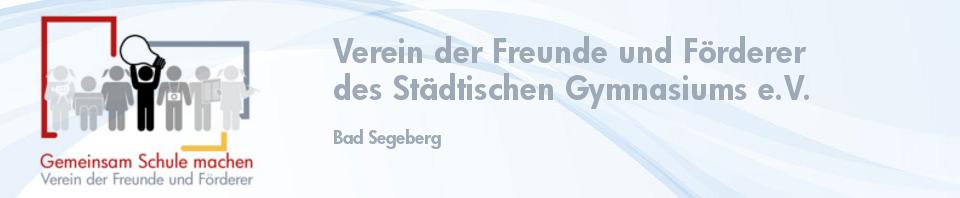 Verein der Freunde und Förderer des Städtischen Gymnasiums e.V.